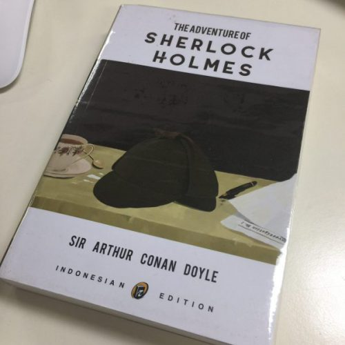 Review Buku : The Adventure of Sherlock Holmes Edisi Indonesia