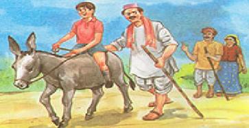 Luqman, Anaknya dan Keledai Kecilnya